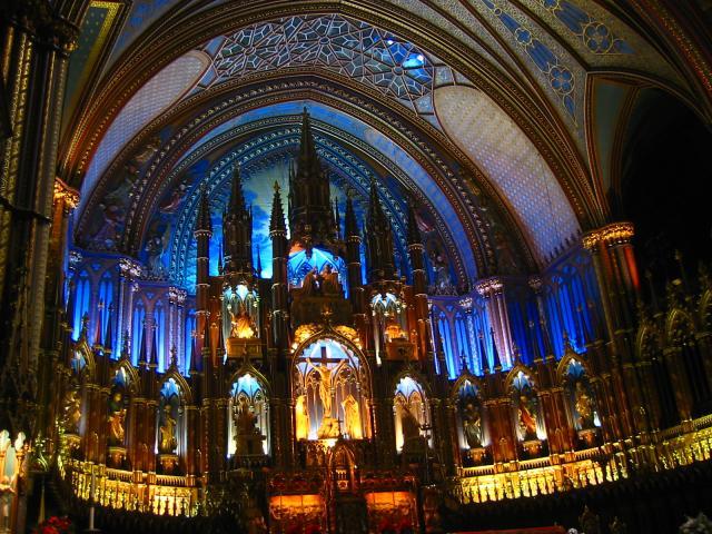Notre Dame Cathedral, Montréal