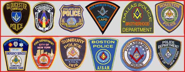 Masonic Police Patch