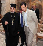 Assad, Destroyed Christian Church, Maaloula Syria, Islamic Militants, masonic, freemasons, Freemasonry