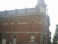 Masonic Lodge, Temple, Bricked up Windows, Masonic, Sign, Freemasons, Freemasonry, Freemason
