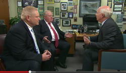 Rob Ford, Toronto, CBC, Peter Mansbridge, Masonry, Freemasonry, Freemasonry, Masonic Lodge
