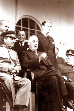 Franklin Delano Roosevelt and Joseph Stalin