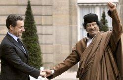 Nicholas Sarkozy, Muammar Gaddafi, France, Libya, Freemasons, Freemasonry, Freemason