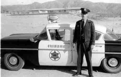 Sherriff Black and White