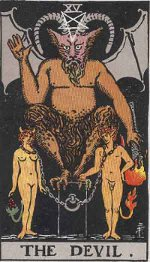 The Devil Tarot, Freemasonry, Freemasons, Freemason, Masonic, Secret Society