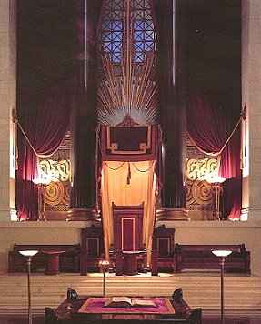 Lucifers Throne, Scottish Rite Temple