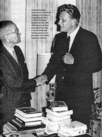 President Truman, Billy Graham, Masonic, Handshake, Sign, Freemasons, Freemasonry, Freemason