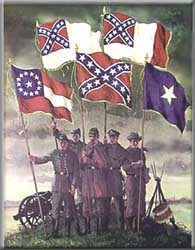 Confederate 'Rebel' Flags