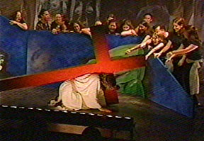 The 5th Station of the Cross, 'Way of the Cross' World Youth Day Toronto 2002.